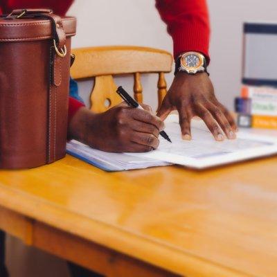 Видача розписки за договором позики