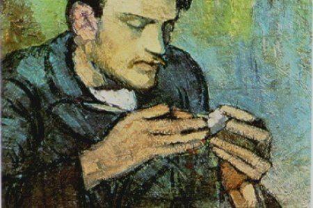 Портрет Фернандеса де Сото авторства Пікассо